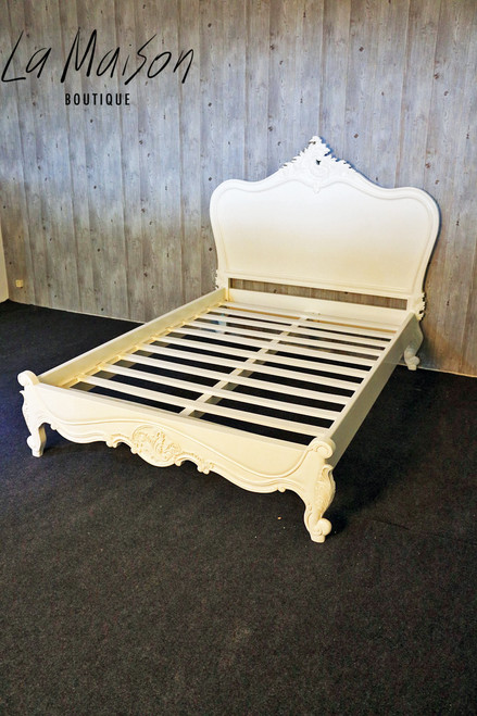 IN STOCK: Provençal Classic Bed - low end - Queen size