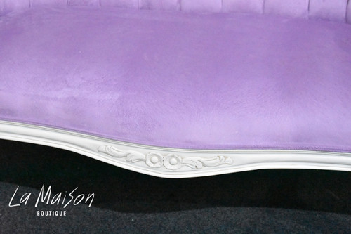 IN STOCK NOW: Valentina Love Seat (Drawn Pink)