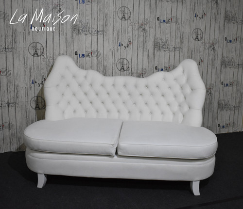 IN STOCK NOW: French Bergere Sofa Chaise