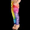ANG-ELE Prism Print Yoga Leggings - Left