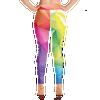 ANG-ELE Prism Print Yoga Leggings - Back