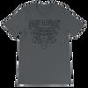 Classic Tribal Head Unisex short sleeve t-shirt - Asphalt