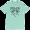 Classic Tribal Head Unisex short sleeve t-shirt - Heather Mint