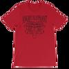 Classic Tribal Head Unisex short sleeve t-shirt - Red