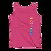 ANG-ELE Prism Ladies Tank - Hot Pink