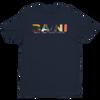 BA\NI short sleeve men's t-shirt - Midnight Navy