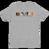BA\NI short sleeve men's t-shirt - Heather Grey