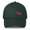 Pink Elephant Awareness Month- Dad Cap - Forest Green