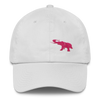 Pink Elephant Awareness Month- Dad Cap - White