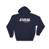 Angry Elephant Pay Attention Hoodie - Navy/White