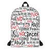 ARTWORK (NO)-Backpack white