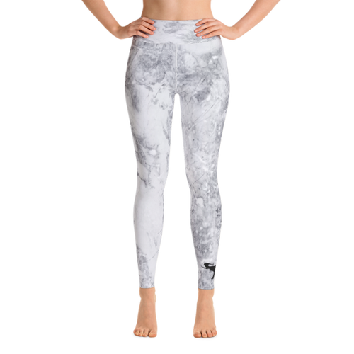 AE Stone Gray Yoga Leggings - Front