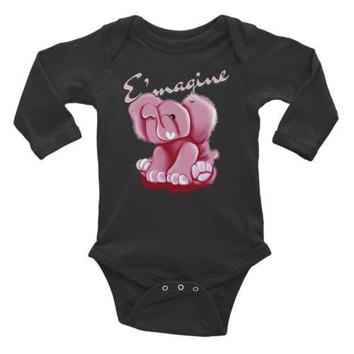 E'magine Infant Long Sleeve Bodysuit