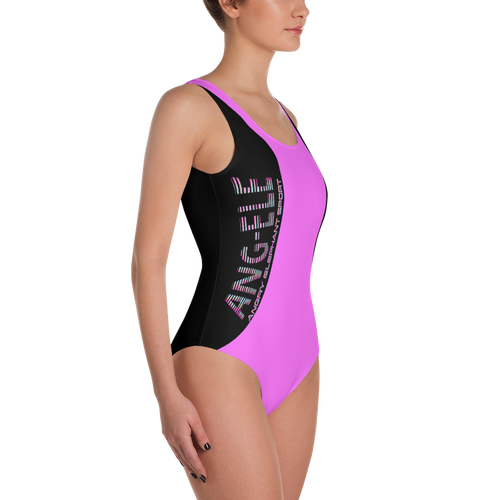ANG-ELE PINK One-Piece SLIM-suit