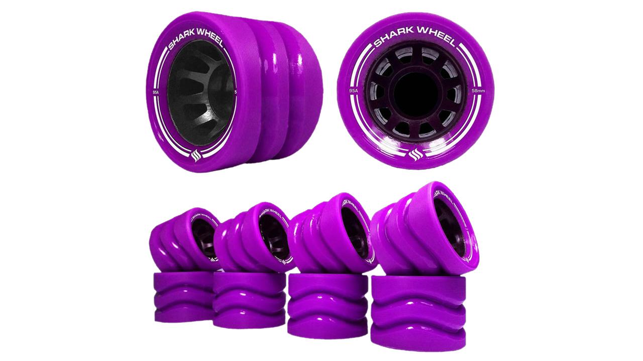 OUTDOOR Hybrid Quad Skate Wheels