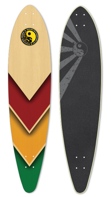 Shiver RASTA ARROW Deck