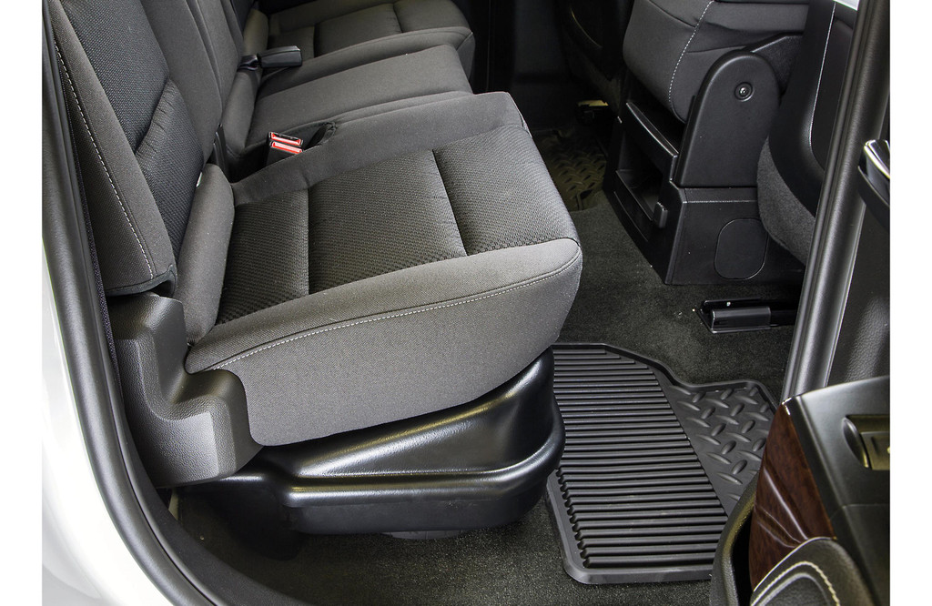 2015 Chevrolet Silverado 1500 Double Cab >> KICKER SubStage Powered Subwoofer Upgrade Kit for 2014 ...