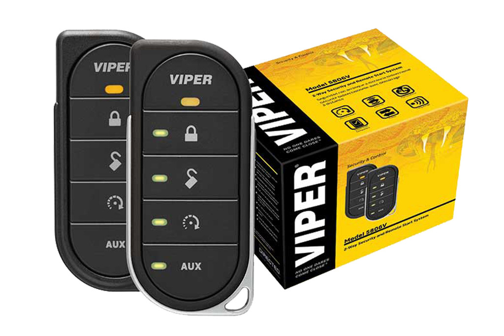7 Clever Ideas For A Secure Remote Cabin: Viper 5806V 2way Led Sec/Rs 1mile Range