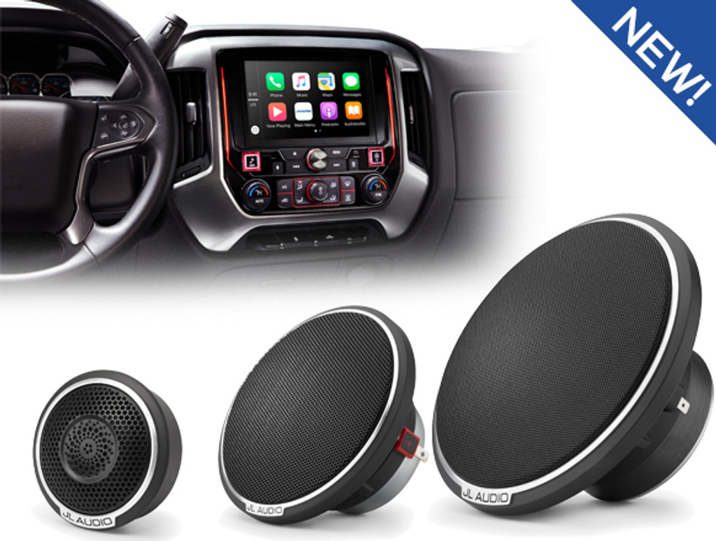 New Arrivals - Alpine i209-GM & JL Audio C7 Component Speakers