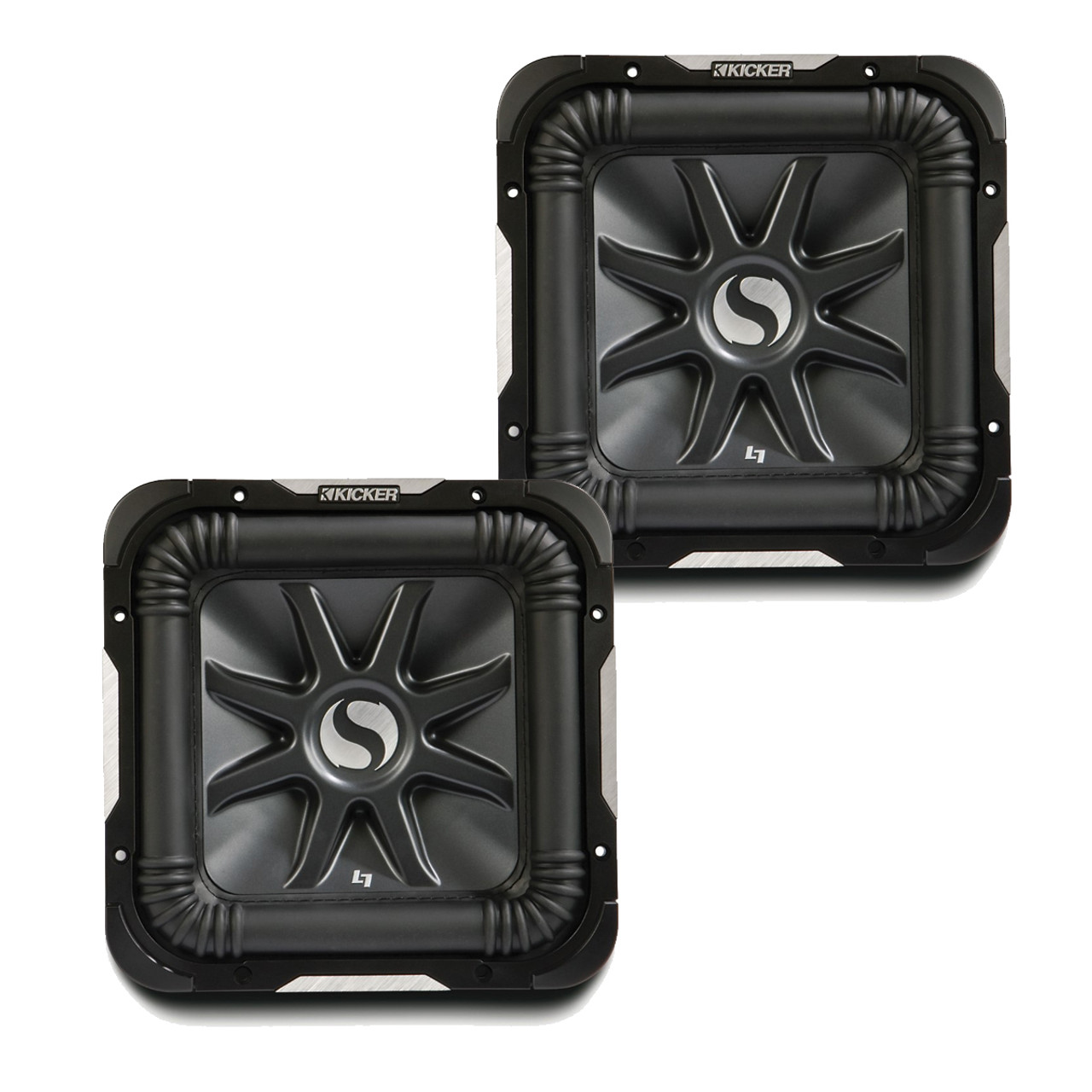 Kicker 11S10L72 Bundle - Two Solobaric L7 10\