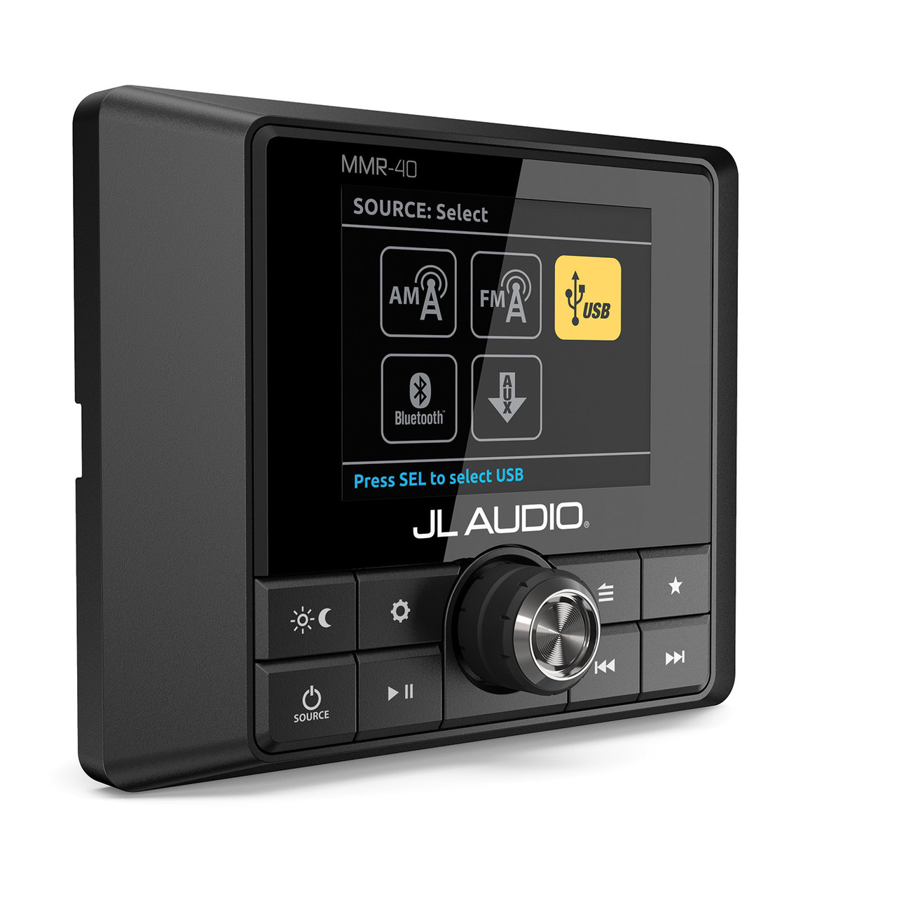 JL Audio Full-function, NMEA 2000 network wired remote controller ...