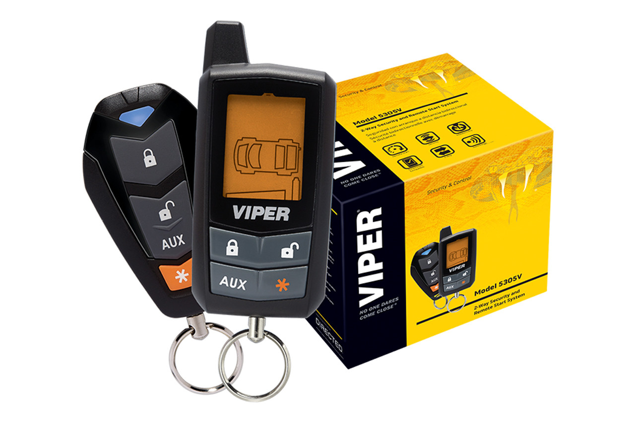 Viper 5305V LCD 2-Way Security And Remote Start System