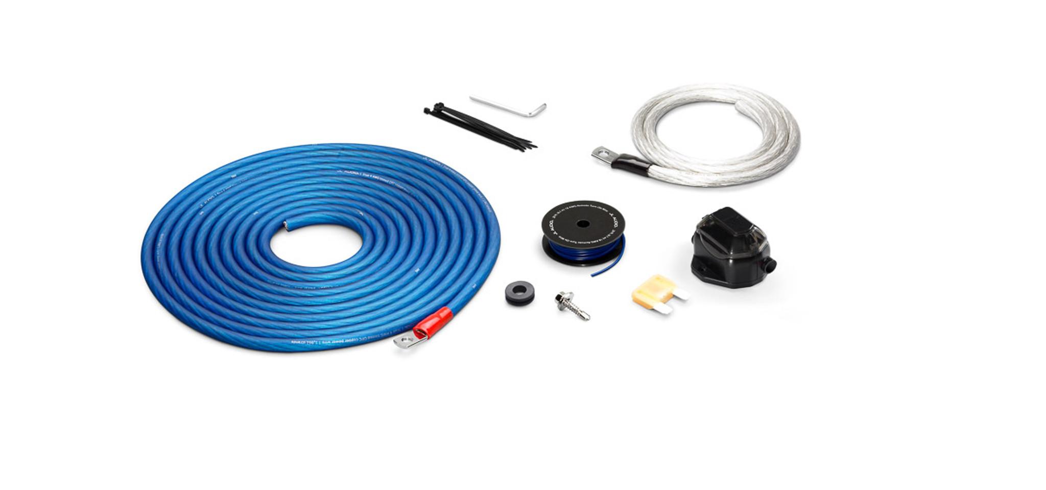 JL Audio XD-PCS4-1B: Premium 4 AWG 12 V Power Connection Kit Single ...