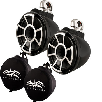 Wet Sounds Rev 10 Swivel Clamp Tower Speakers With Wet