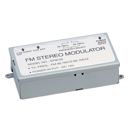 Power Acoustik 3-Step FM Modulator