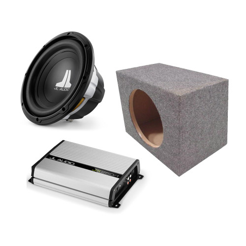 jl audio 12w0v3 4 with truck box and jx250 1 bass package. Black Bedroom Furniture Sets. Home Design Ideas