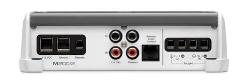 JL Audio M200/2:2 Ch. Class D Full-Range Marine Amplifier 200 W
