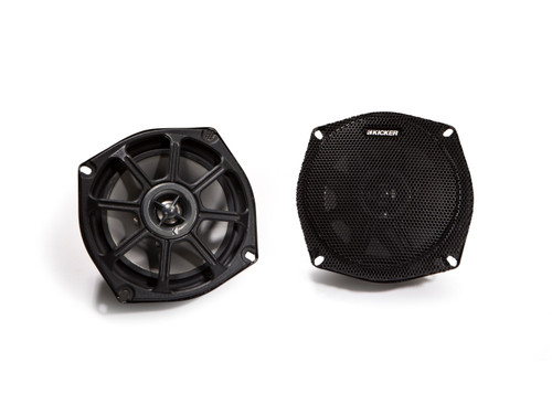 Kicker 10PS5250 5.25 Inch 2-Way PowerSports Series Coaxial Speakers (Pair)