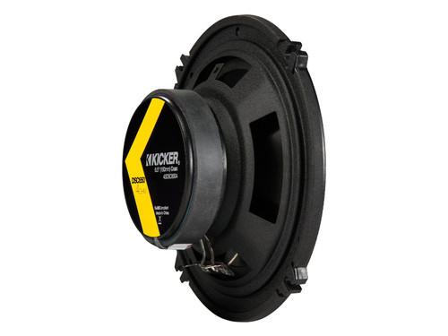Kicker DSC650 6.5-Inch (160-165mm) Coaxial Speakers, 4-Ohm (Pair)