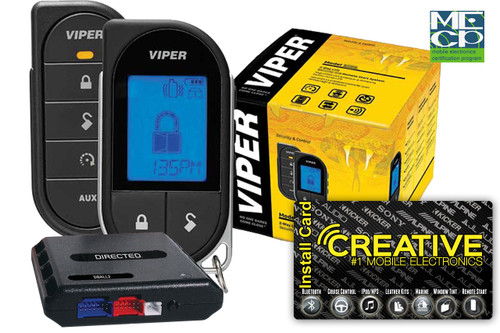 Viper 5706V 2way Lcd Sec/Rst 1mile Range - Price Includes Standard Installation