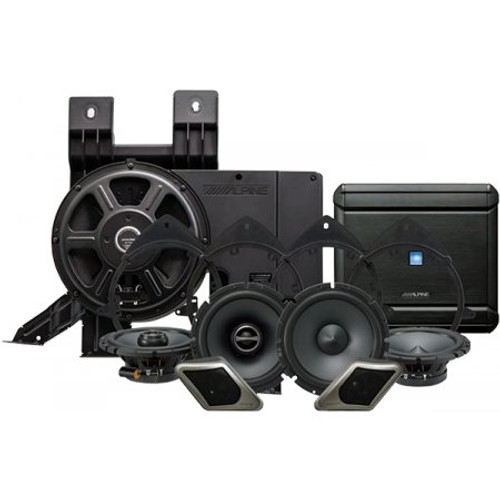 Alpine PSS21GM Direct Fit Restyle System For Select GM Trucks And SUVS