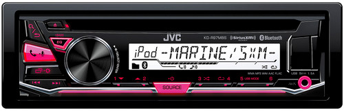 JVC Refurbished Marine KD-R97MBS CD Receiver with Bluetooth
