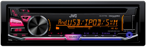 JVC KD-R775S Refurbished CD Receiver with Front USB/AUX Input