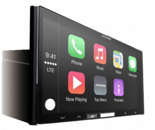 Alpine iLX-107 7 Inch Mech-less Receiver with Wireless Apple CarPlay