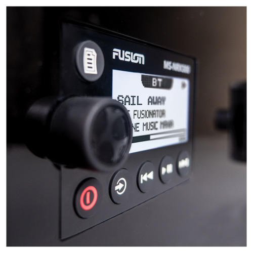 Fusion MS-NRX300 IPX7 NMEA 2000 Wired Remote