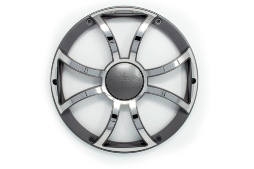 Wet Sounds REVO 12 XS-G-SS GRILL Gunmetal w/ Stainless XS Open Style Grill for the REVO 12 Inch LED Marine Subwoofer