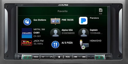 Alpine i207-WRA 7-Inch Restyle Dash System with Apple CarPlay for Jeep Wrangler 2007-2017