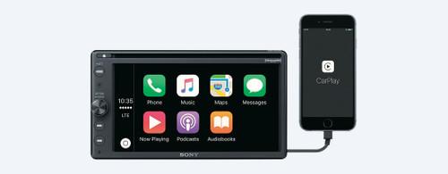 Sony XAV-AX200 AM/FM/CD Receiver with Bluetooth, Apple CarPlay, Android Auto, & includes Sirius XM Tuner
