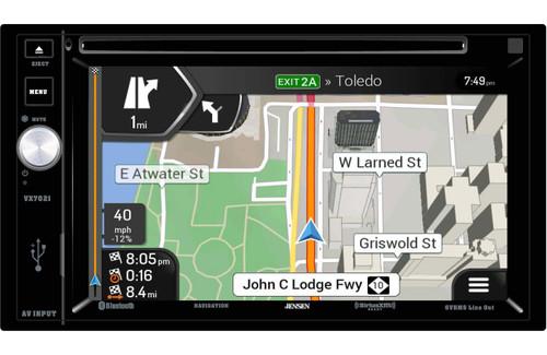 Jensen VX7021 Refurbished 2 DIN Navigation touch-screen with bluetooth
