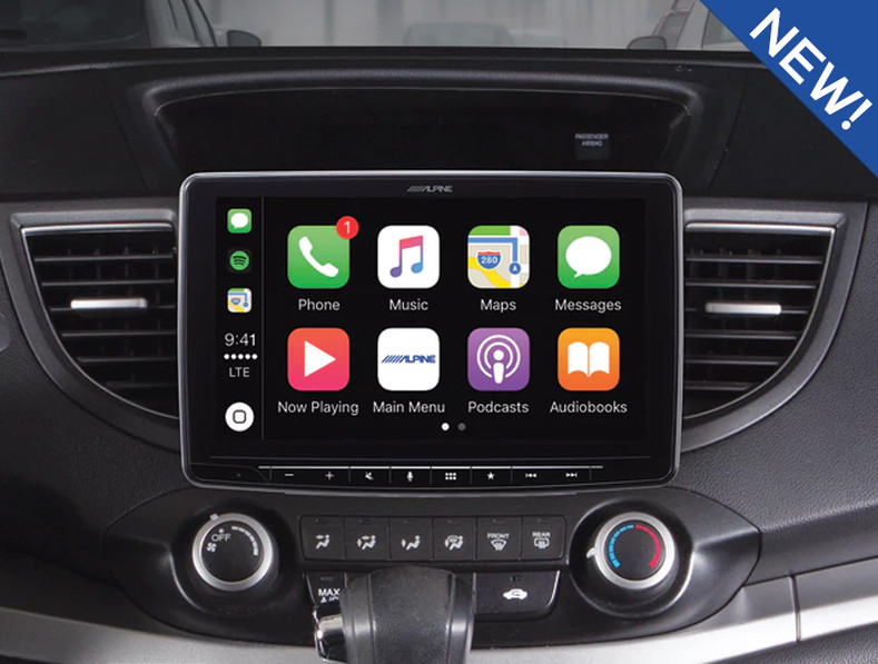 """Alpine iLX-F309 Halo9 9"""" In-Dash System brings oversized screens to the masses."""