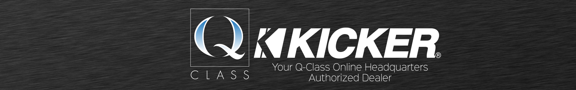Kicker Q-Class Authorized Dealer