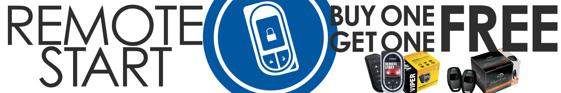 Buy One Get One Free Remote Start