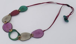Linked In Necklace - Winter Cool
