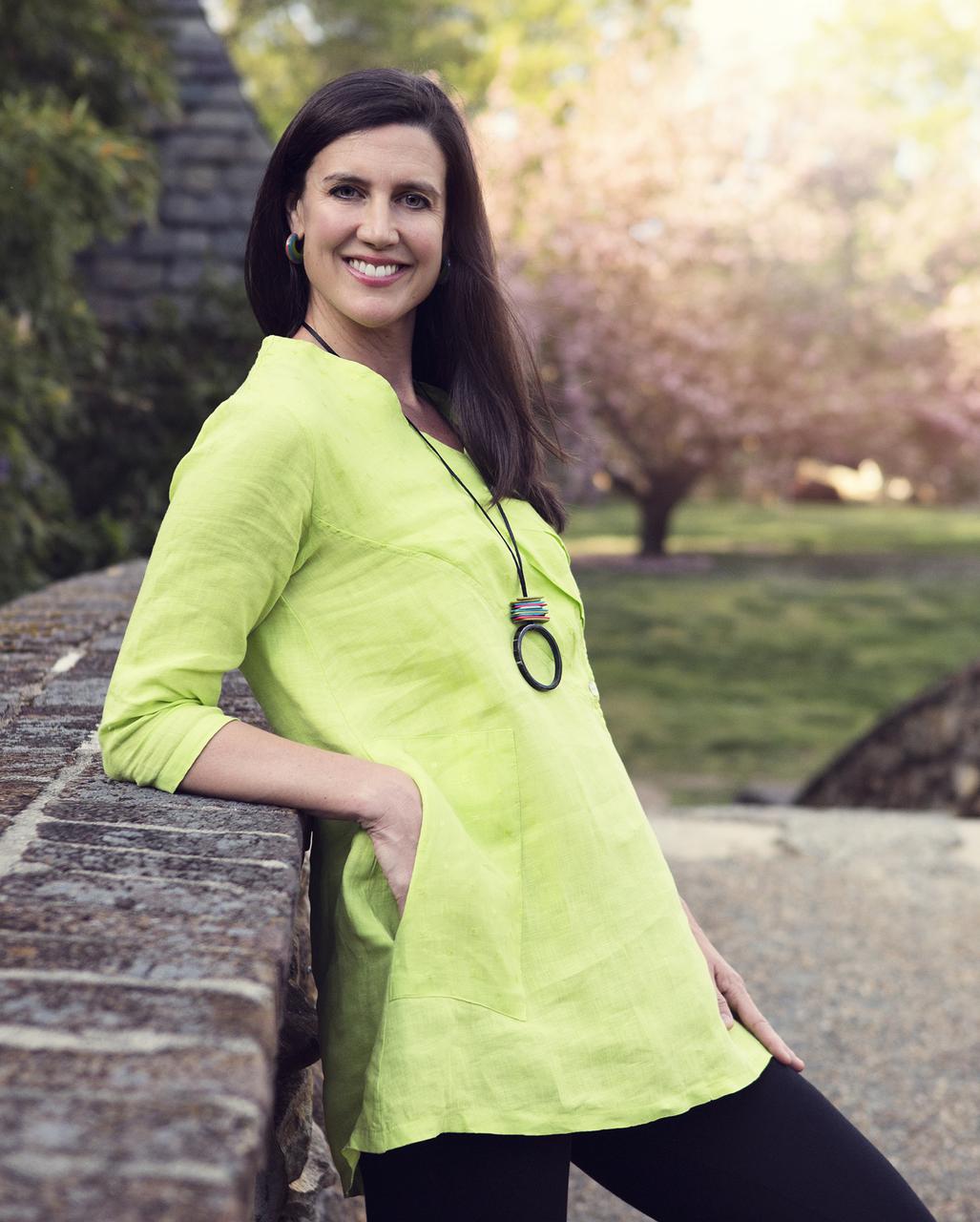 Mona Lisa Tunic - Kiwi Green