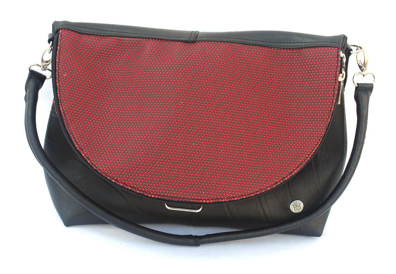 Women Optimus Crossbody Bag - Red