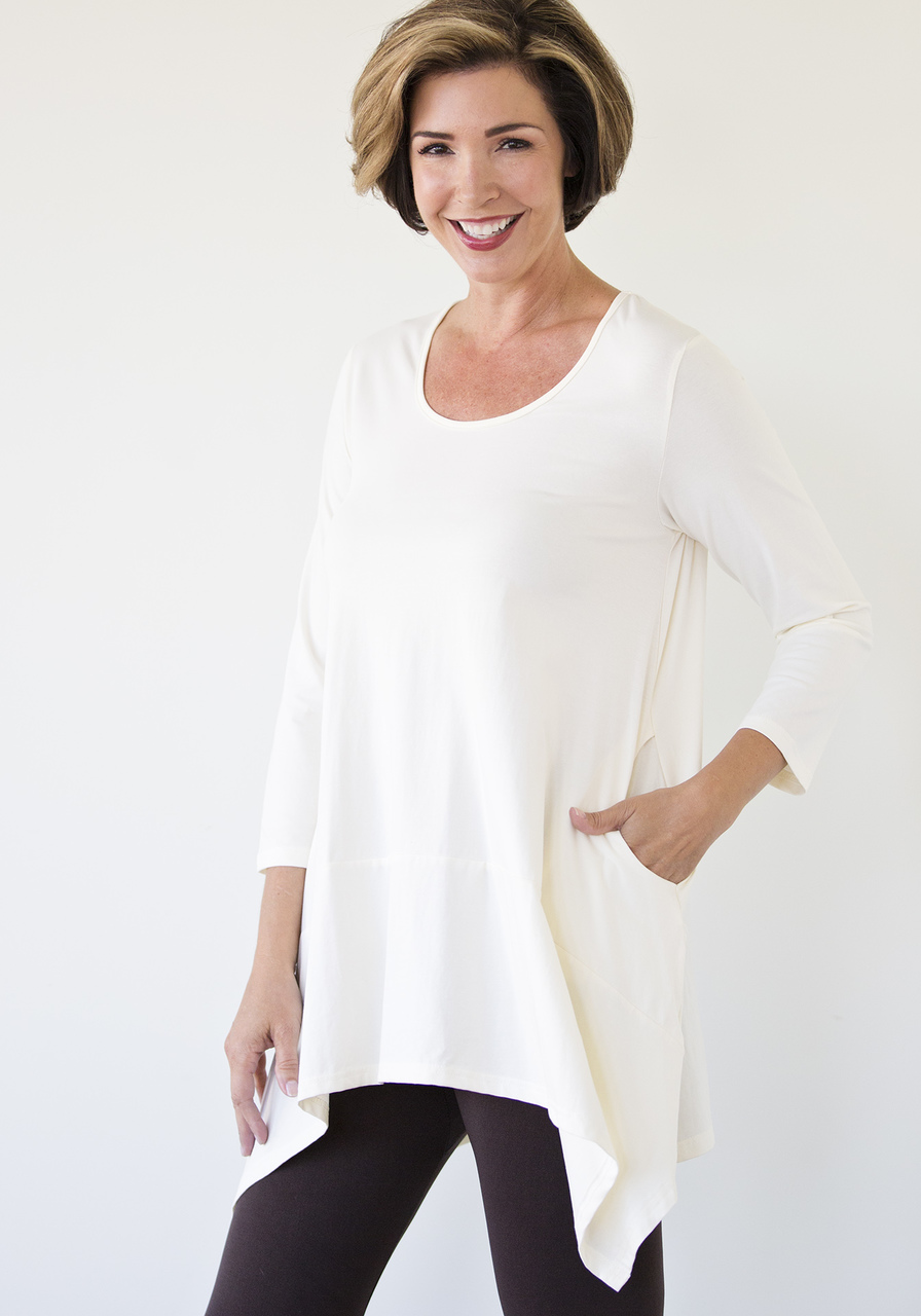 Emma Tunic - Winter White